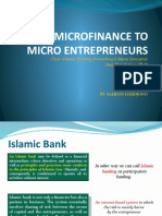 Islamic Micro Finance to Micro Entrepreneurs_26112009sdn
