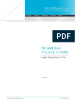 Oil and Gas Industry in India Legal, Regulatory & Tax