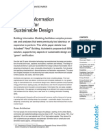 BuildingInformationModelingforSubstainableDesign White Paper