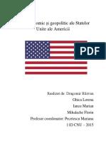 Rolul politic și geopolitic ale Statelor Unite ale Americii
