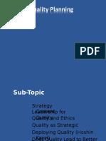 Strategic Quality Planning (1)