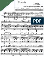 Mendelssohn Violin Concerto Op 64 Score