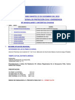 Informe Diario Onemi Magallanes 22.12.2015