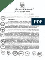 R.M. 572-2015-MINEDU
