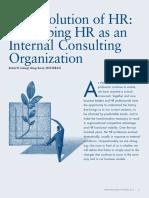 History of HR