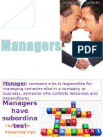 Leadersvs Managers