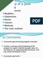 Java Anatomy