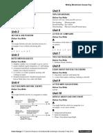 Interchange4thEd Level3 Writing Worksheets AnswerKey