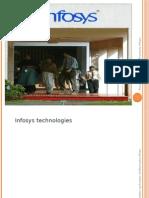 Infosys Case Study Presentation