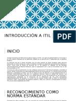 Introducción a ITIL_SA