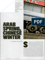 Arab Spring- Chinese Winter