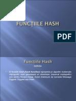 Functiile Hash