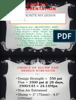 Concrete Mix Design Mtqc (Group7)
