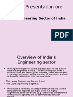 Engineering Sector of India