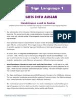 Basic Auslan Signs