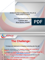 INTEGRATED MARKETING PLAN & IMPLEMENTATION