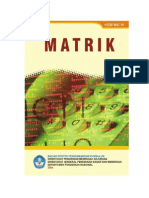 66. Modul Matematika - matrik