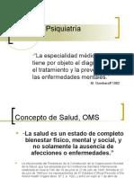 Curso de Psiquiatría Clase1