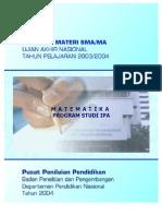 Modul Matematika - Sma Mamatematika