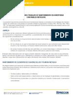 Manual de Mantenimiento Paneles Metálicos PRECOR