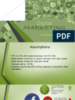 DigitalMarketing Analysis
