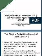 Subsynchronous Oscillations (SSO) WECC_ERCOT_Presentation