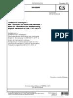 DIN 22101 - 2011 - Belt Conveyors