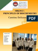 carnitine deficiency case 1