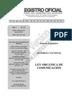 Ley Orgánica Comunicación Ecuador.pdf