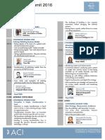 QDP1 Agenda