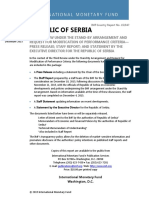 IMF Republic of Serbia - Third Review Under the Stand-By Arrangement and Request for Modification of Performance Criteria-Press Release; Staff Report; And Statement by the Executive Director for the Republic of Serbia