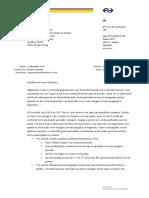 De NS-brief aan minister Dijksma