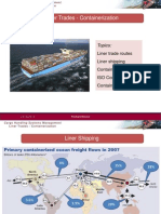 Liner Trades -Containerization