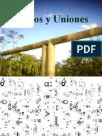 nudos y uniones de bambu