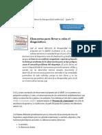 Elementos Para El Diagnóstico de Discapacidad Intelectual - (Parte v) - Info Sobre Los Trastornos Del Espectro Autista (TEA)