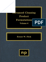 Advanced Cleaning Product Formulations Volume 5