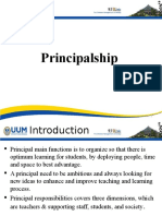 Lecture 9 on Principalship