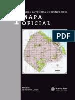 Ciudad de Buenos Aires. Mapa Oficial