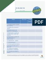 ANEXO 3. Modelo de Plan de Trabajo Para La Implementacion Del SG SST