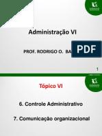 16-04-15 - Damasio - Adm Geral e Publica - Aulas 6 e 7 - Prof Rodrigo Barbati