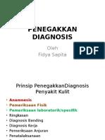 Penegakkan Diagnosis Kulit