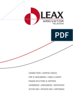 Leax Arkivator Telecom Catalogue 2014 (2)