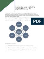 7s Framework for Ecommerce