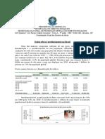 dados sobre o envelhecimento no brasil