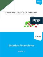 Sesión 15 Estados Financieros