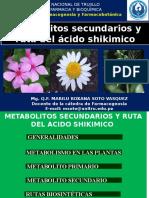 Metabolitos Secundarios y Ruta Del Acido Shikimico
