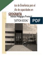 Propuesta de capacitación docente en GEOGRAFIA