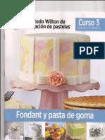 El metodo Wilton de decoracion de pasteles. Curso 3.-