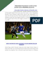 Prediksi Everton vs Newcastle United 27 Desember 2015