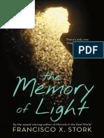 The Memory of Light (Excerpt)